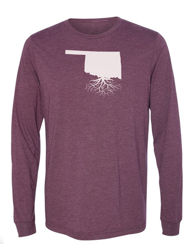 Oklahoma Long Sleeve Crewneck Tee