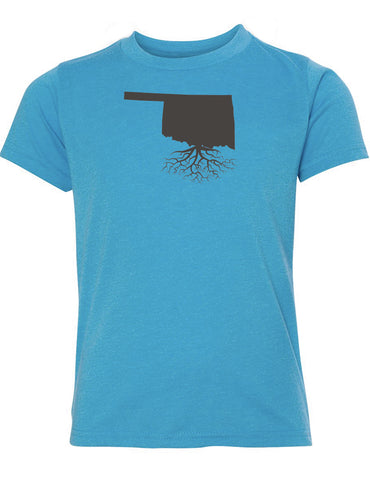 Oklahoma Youth TriBlend Tee