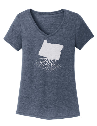 Oregon Women's V-Neck Tee