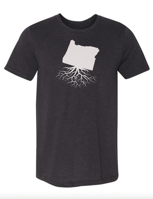 Oregon Men's Tri-Blend Crew