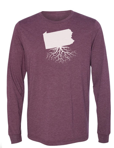 Pennsylvania Long Sleeve Crewneck Tee