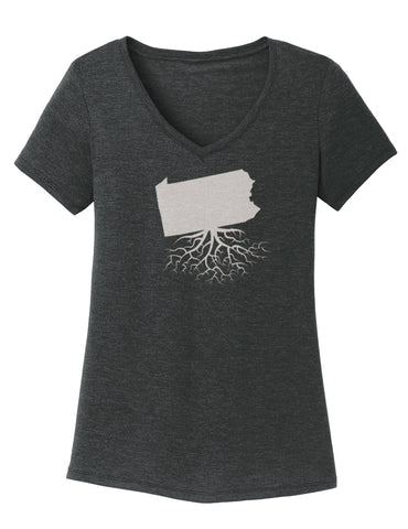 Pennsylvania Women's V-Neck Tee