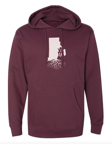 Rhode Island Mid-Weight Pullover Hoodie