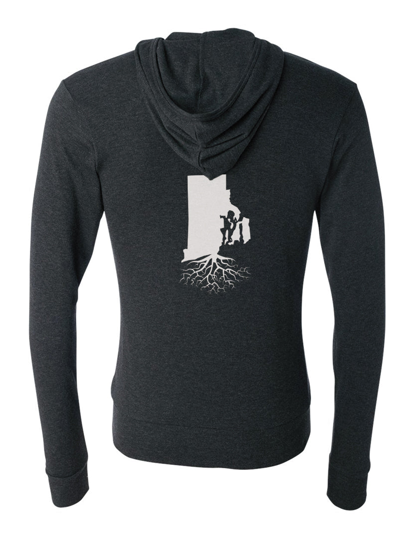 Rhode Island Light-Weight Zip Hoodie