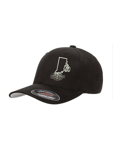 Rhode Island Roots Structured Flexfit Hat