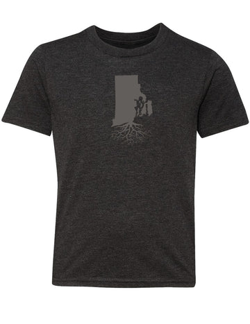 Rhode Island Youth TriBlend Tee