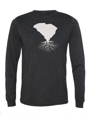 South Carolina Unisex Long Sleeve Tri-Blend Crew Tee