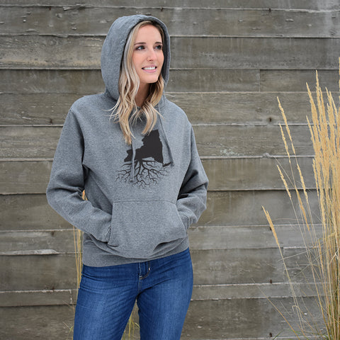 Unisex Mid-Weight Pullover Hoodie