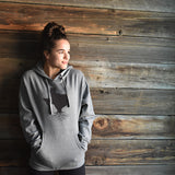Unisex Roots Mid-Weight Hoodie