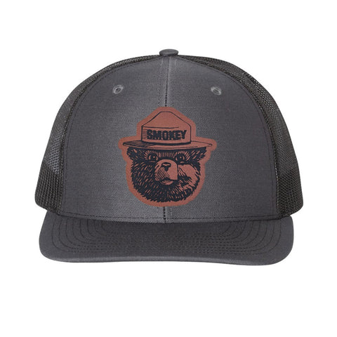 Smokey Hat Patch Structured Trucker