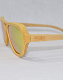 Going to the Sun : WYR Polarized Bamboo Sunglasses