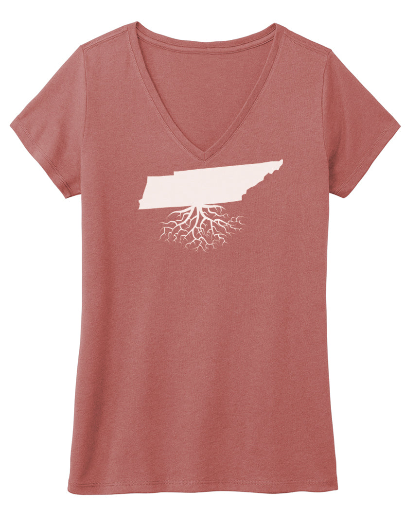 42b611f2be95 Tennessee Women's Traditional Fit Tri-Blend V-Neck