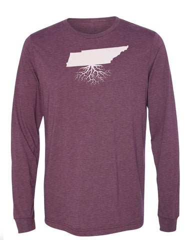Tennessee Long Sleeve Crewneck Tee