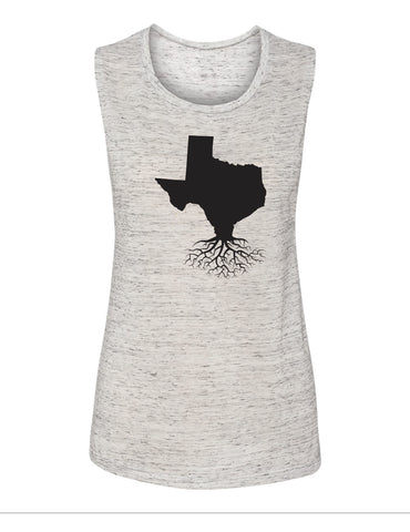 Texas Women's Muscle Tank