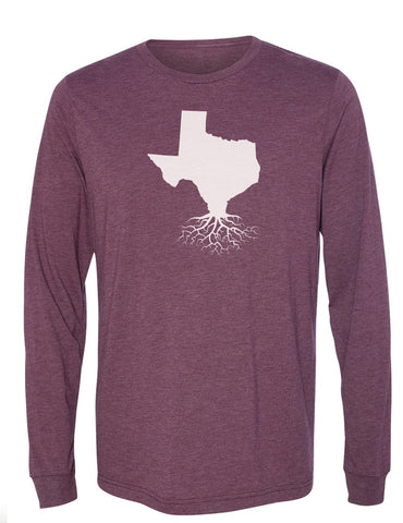 Texas Long Sleeve Crewneck Tee