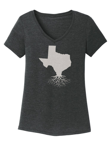 Texas Women's V-Neck Tee