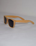 Tahoe : WYR Polarized Natural Wayfarer Bamboo Sunglasses