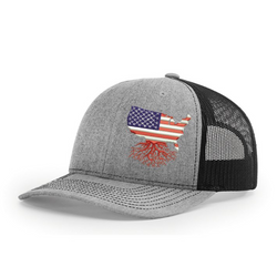 USA Snapback Trucker Hat