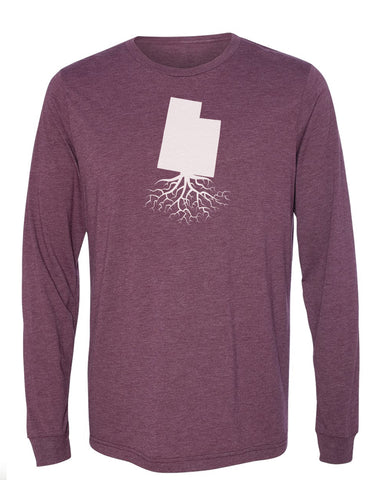 Utah Long Sleeve Crewneck Tee