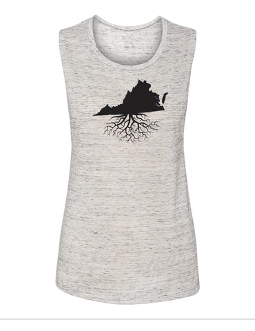 Virginia Women's Muscle Tank