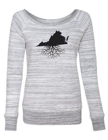Virginia Women's Off The Shoulder Sweatshirt