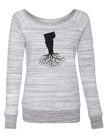 Vermont Women's Off The Shoulder Sweatshirt
