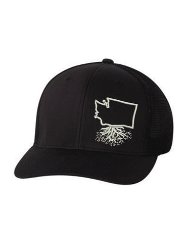Washington Flexfit Mesh Trucker