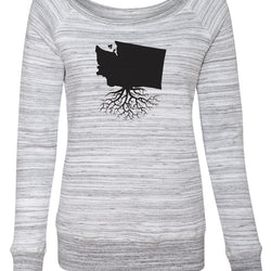 Washington Women's Off The Shoulder Sweatshirt