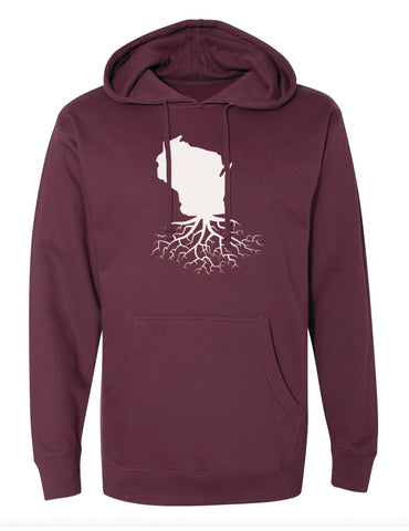 Wisconsin Mid-Weight Pullover Hoodie