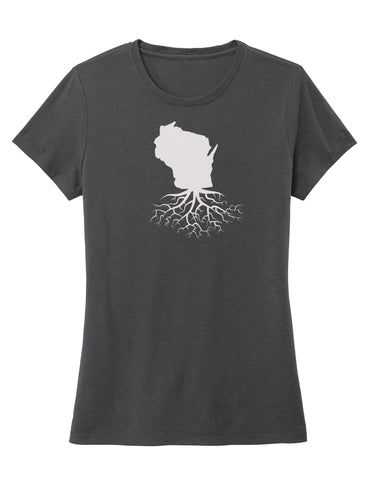 Wisconsin Women's Crewneck Tee