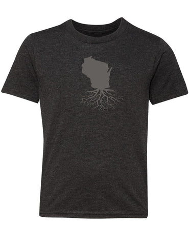 Wisconsin Youth Crewneck Tee