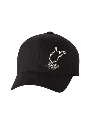 West Virginia Roots Structured Flexfit Hat