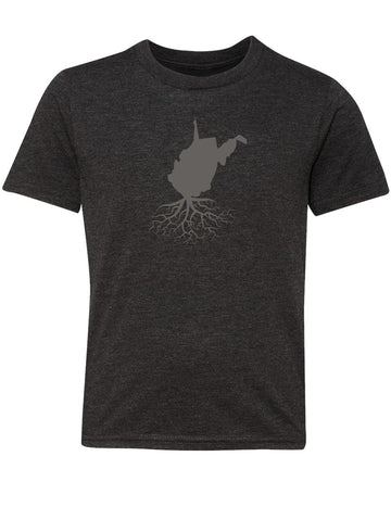 West Virginia Youth TriBlend Tee