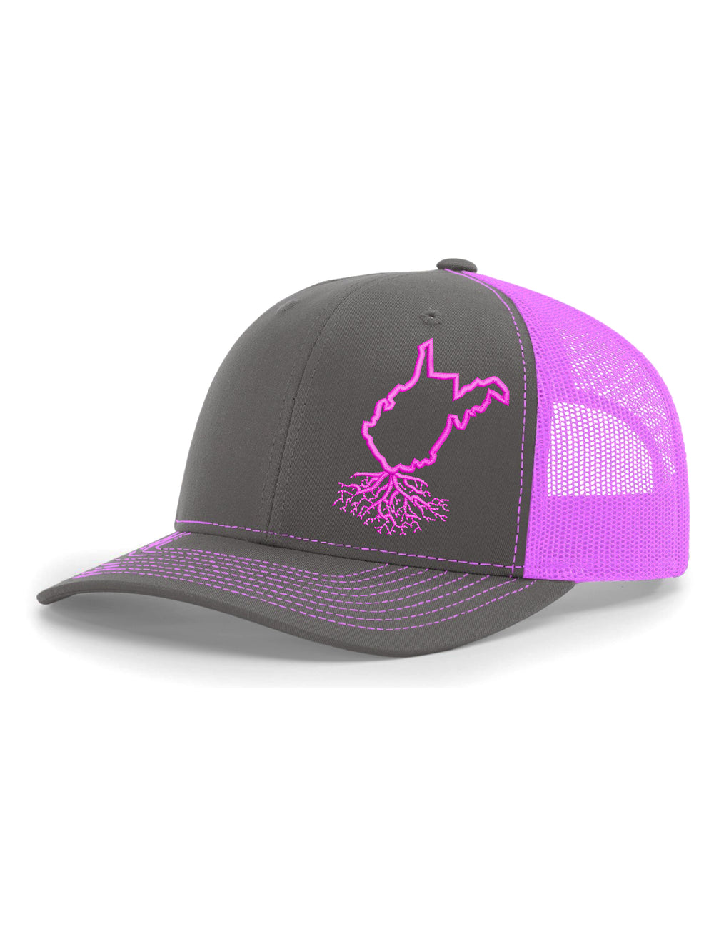 West Virginia Snapback Trucker