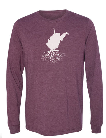 West Virginia Long Sleeve Crewneck Tee