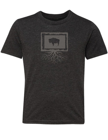 Wyoming Youth TriBlend Tee