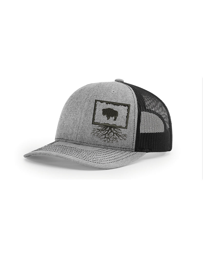 Wyoming Snapback Trucker Hats