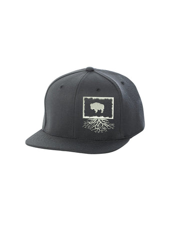 Wyoming Roots FlexFit Snapback