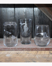 Roots Pint Glasses