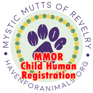 Child Human Registration (age 2-12 years)