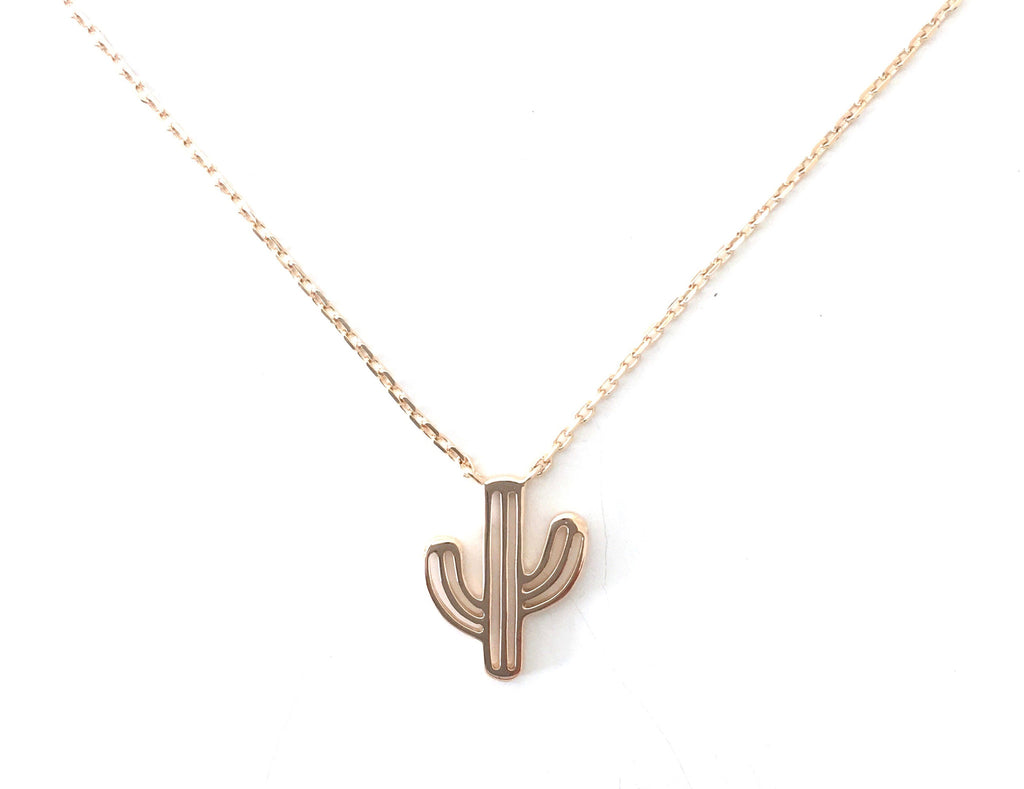 Cactus Gold Necklace