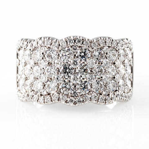 Diamonds Galore Ring