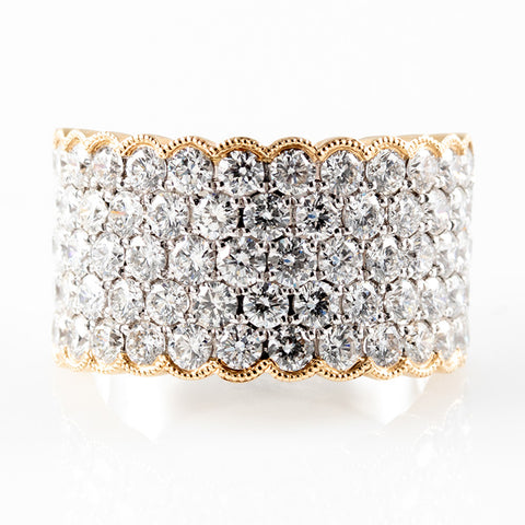 Two Tone Diamond Stunner