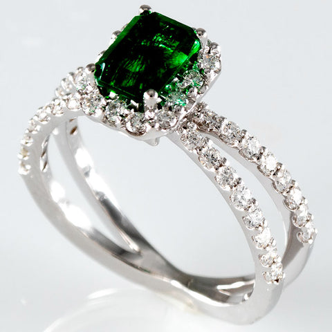 Green Quartz Custom Ring