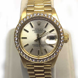 Ladies Presidential 18k Rolex w/box
