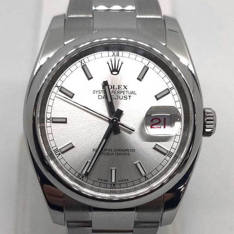 Rolex Datejust w/Box & Papers
