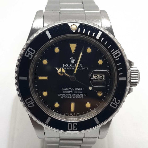 Black & Classic Cream Rolex Submariner