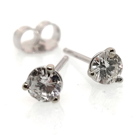 .50 TCW Diamond Stud Earrings