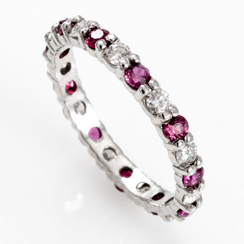 Diamond Ruby Band