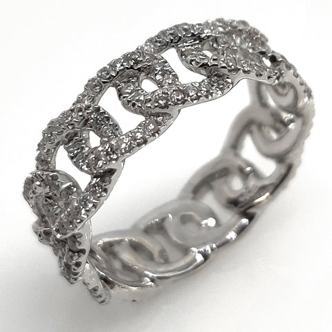 18K White Gold Fashion Ring